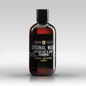 Lumber Craft BEARD ORIGINAL WASH-Šampon za bradu