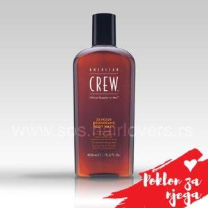 American Crew 24-HOUR DEODORANT BODY WASH-Osvežavajuća kupka za telo za kontrolu neprijatnih mirisa