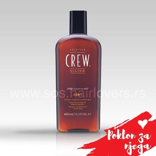 American Crew 3-IN-1-Osvežavajuća kupka