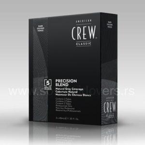 American Crew PRECISION BLEND DARK-Boja za kosu za muškarce tamna
