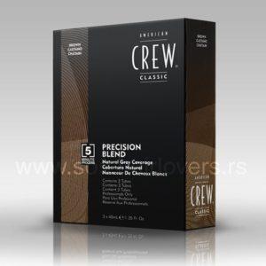 American Crew PRECISION BLEND MEDIUM NATURAL-Boja za kosu za muškarce prirodno srednje tamna