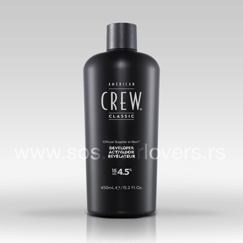 American Crew PRECISION BLEND PEROXIDE 15 VOL.-Hidrogen za boju za kosu za muškarce