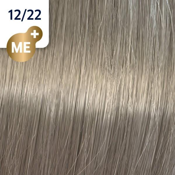 Profesionalna boja za kosu Wella Koleston Perfect 12/22 Specijalna pepeljasto mat plava