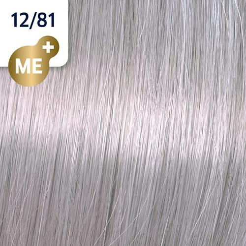 Profesionalna boja za kosu Wella Koleston Perfect 12/81 Specijalna biserno pepeljasto plava