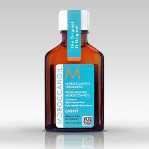 MOROCCANOIL LIGHT Tretmansko arganovo ulje za svetlu kosu 25ml