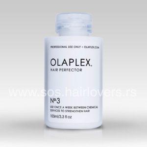 OLAPLEX HAIR PERFECTOR No.3 - Aktivni sastojci u krem formuli za dubinsku obnovu i jačanje kose