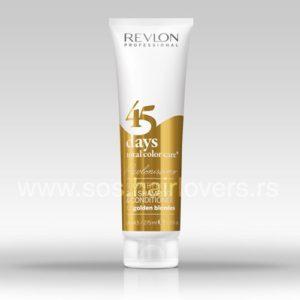 Revlonissimo 45 days GOLDEN BLONDES-2 u 1 šampon i regenerator za farbanu kosu