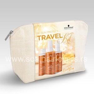 Schwarzkopf BC SUN PROTECT PROTECT TRAVEL KIT-Komplet proizvoda za zaštitu kose od sunca u neseseru