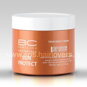 Schwarzkopf BC SUN PROTECT TRETMENT CREAM-Maska za negu i zaštitu kose od sunca