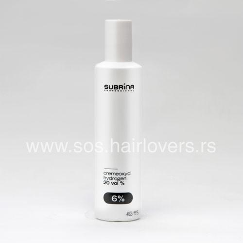 Subrina Professional CREMEOXYD 6%-Kremasti hidrogen za boju za kosu 6%