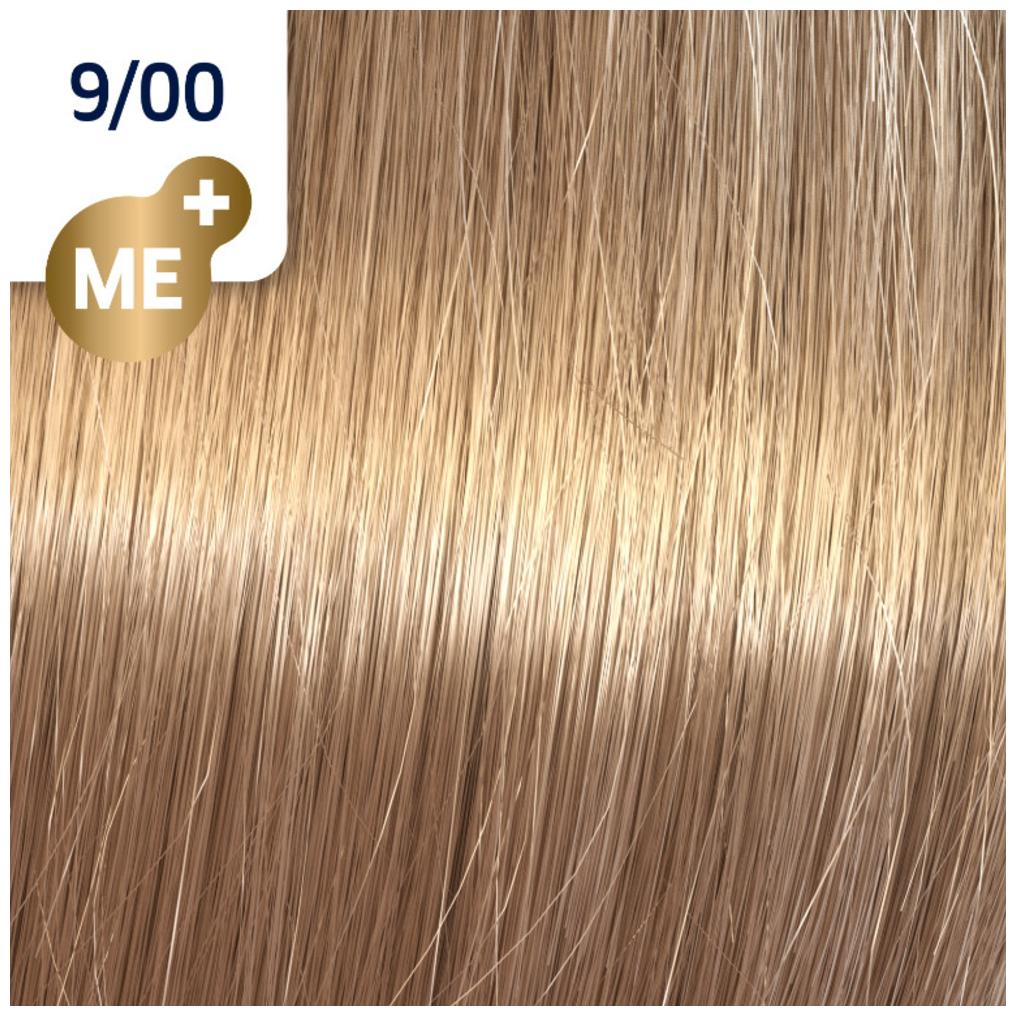 Profesionalna boja za kosu Wella Koleston Perfect 9/00 Veoma svetlo prirodno plava