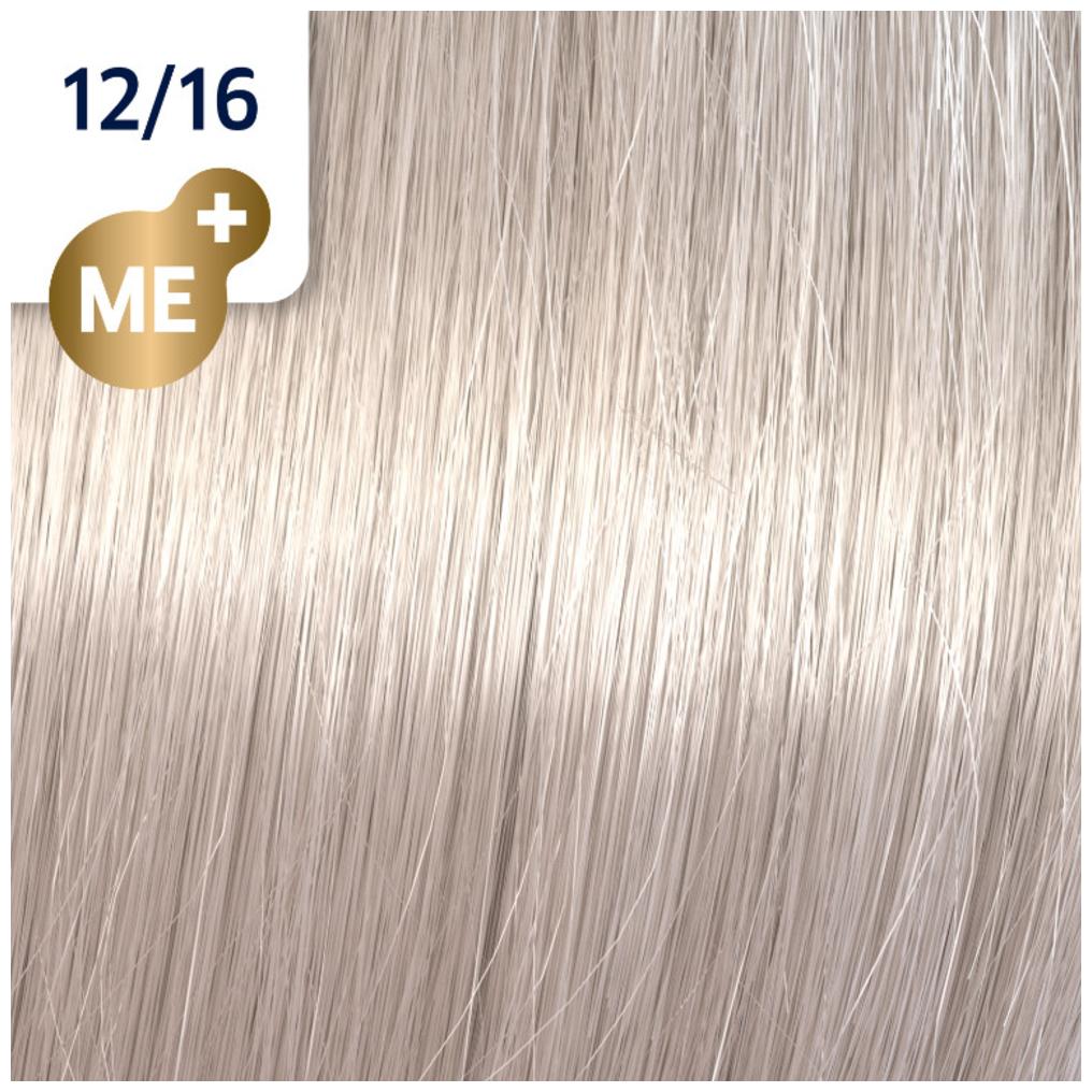 Profesionalna boja za kosu Wella Koleston Perfect 12/16 Specijalna pepeljasto violet plava