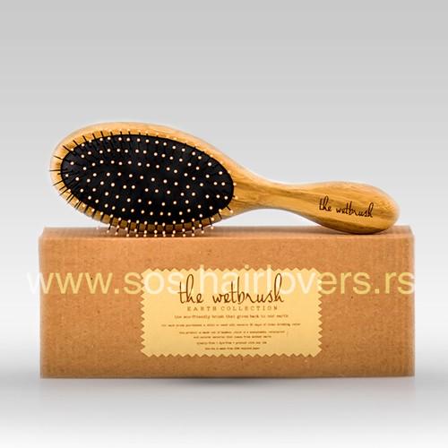 Wet Brush EARTH BAMBOO - Eko-četka za raščešljavanje kose