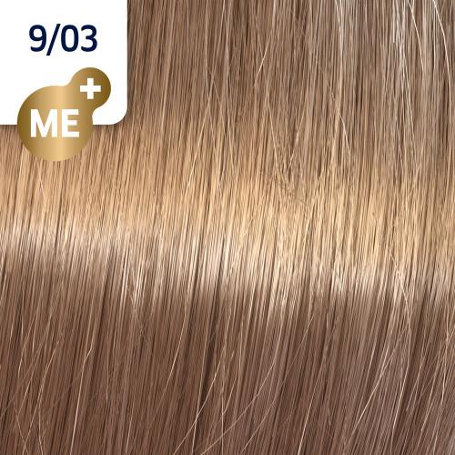 Profesionalna boja za kosu Wella Koleston Perfect 9/03 Veoma svetlo prirodno zlatno plava