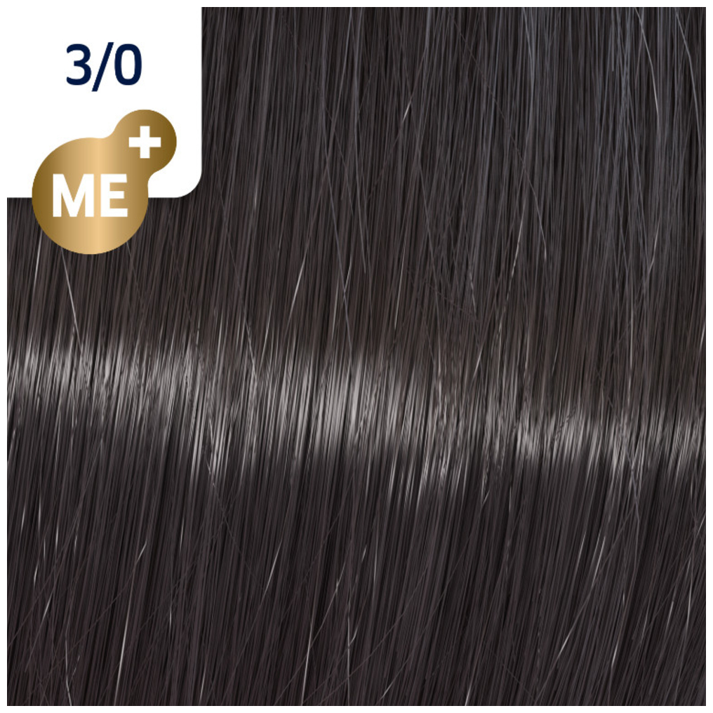 Profesionalna boja za kosu Wella Koleston Perfect 3/0 Prirodna tamno braon