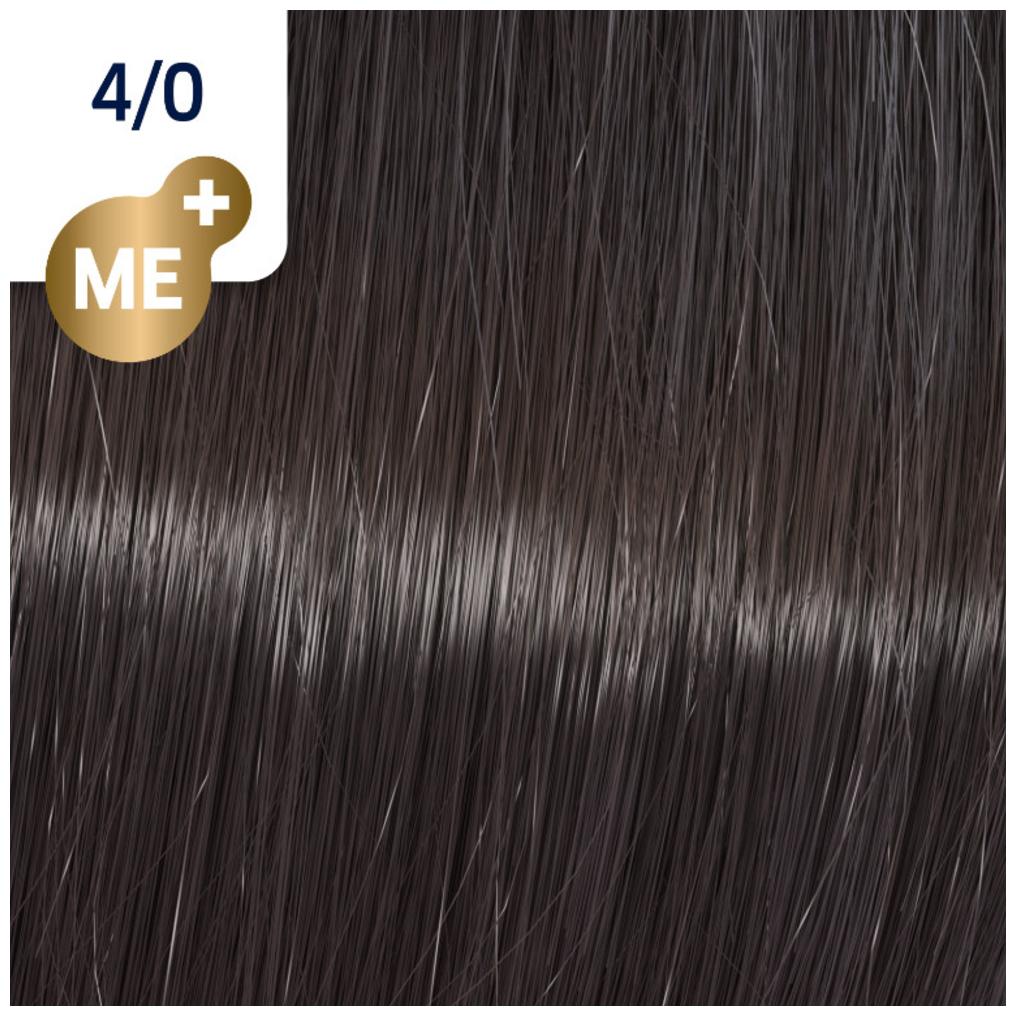 Profesionalna boja za kosu Wella Koleston Perfect 4/0 Prirodno srednje svetla braon