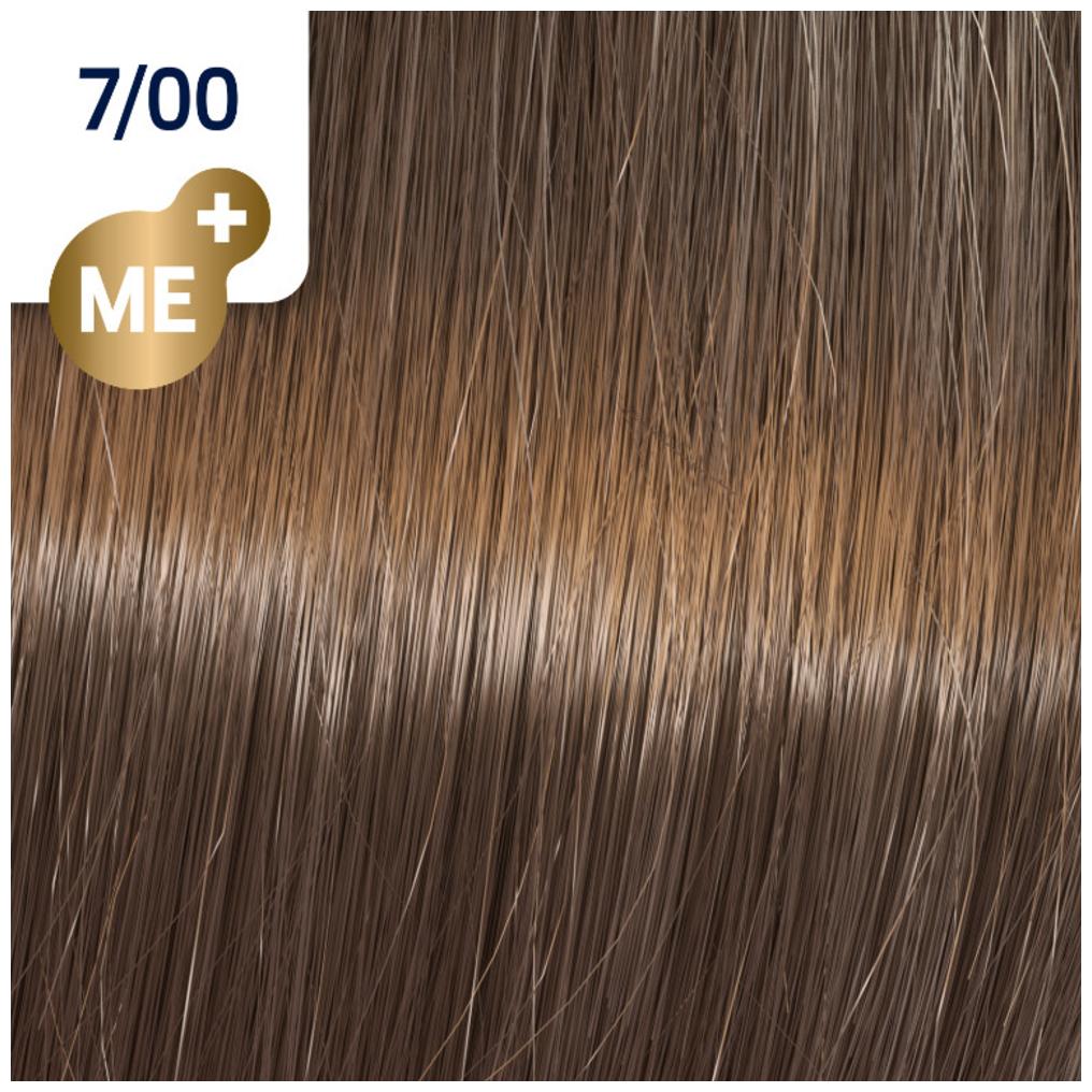 Profesionalna boja za kosu Wella Koleston Perfect 7/00 Prirodno srednje svetlo plava