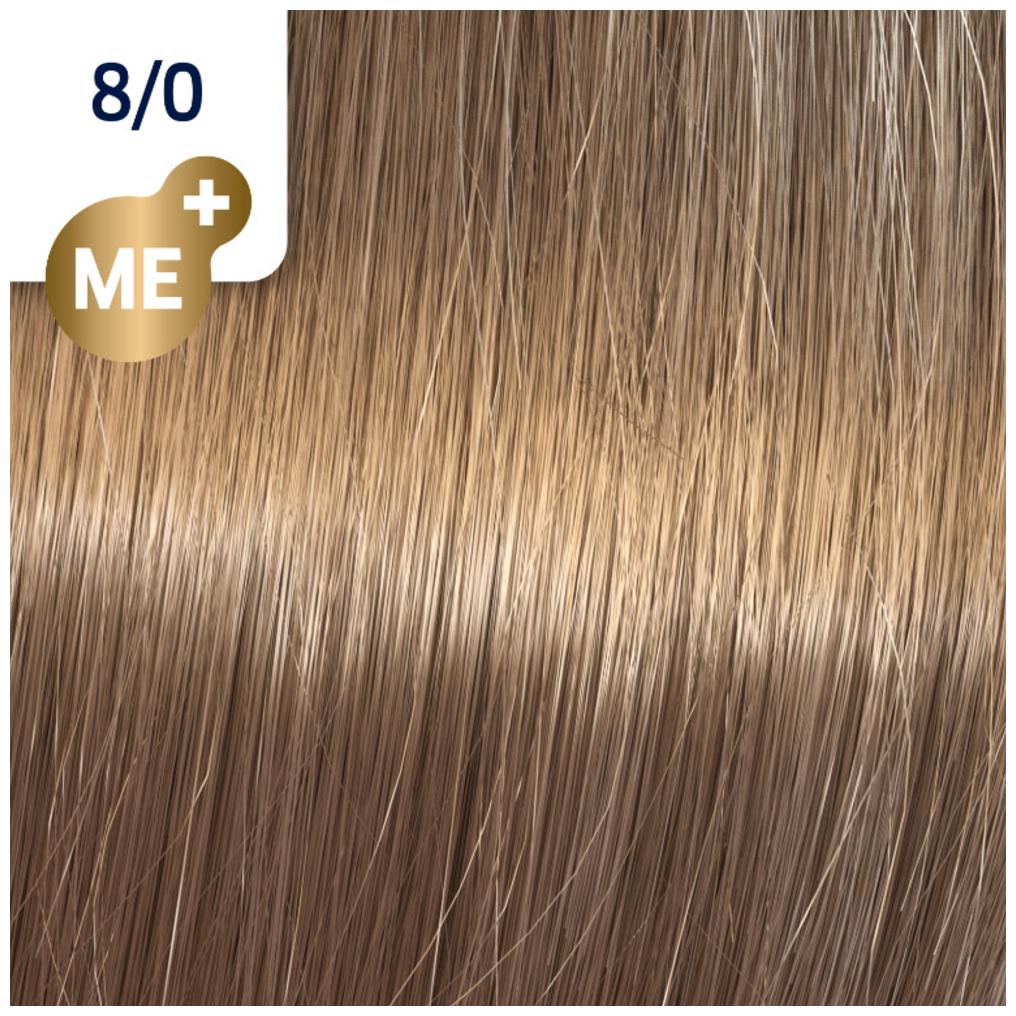 Profesionalna boja za kosu Wella Koleston Perfect 8/0 Svetlo prirodno plava