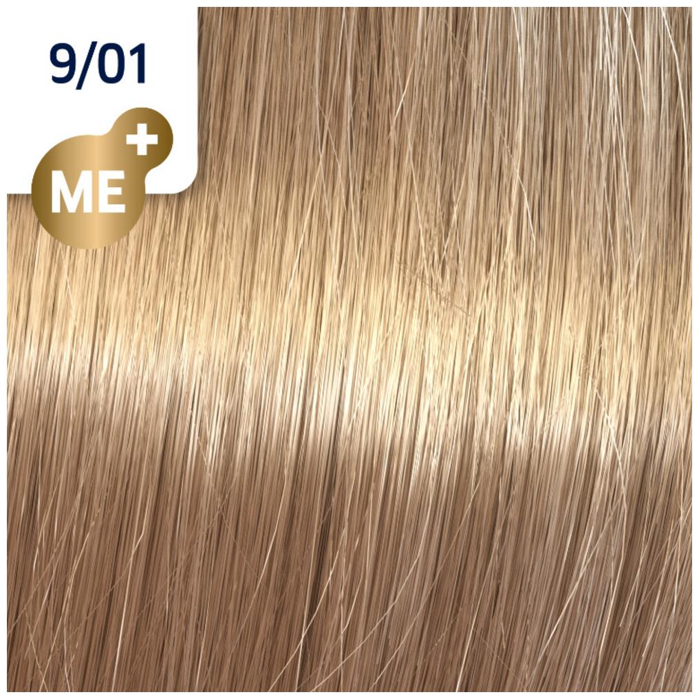 Profesionalna boja za kosu Wella Koleston Perfect 9/01 Prirodno pepeljasto veoma svetlo plava