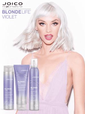 Joico Blonde life Violet nega protiv neželjenog žutila na plavoj kosi