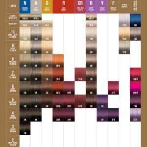 Vero K-PAK Color katalog boja za kosu